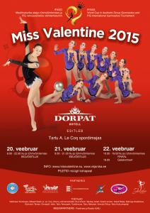 Miss Valentine 2015 plakat A2 - 3